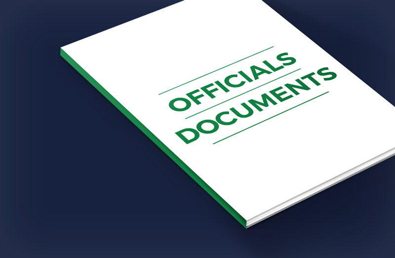 Officials Documents