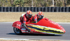 Australian F1 and F2 Sidecar Championship Barnstormer at Morgan Park