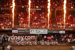 Entries open for 2018 Australian Supercross Championship with huge incentive for Junior riders to wrap up a championship in Sydney