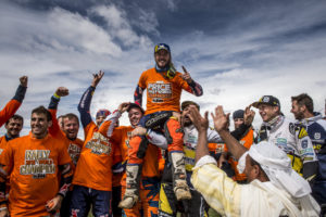 Toby Price is FIM Cross-Country Rally World Champion