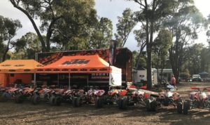 Bosnakis Leads Gaisford in ATV MX Nats Battle